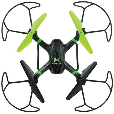 Xtreme Ready-To-Fly 2 4Ghz 6 Axis Gyro Aerial Quadcopter Drone With Camera  (05461) With Bundle Includes Vr Vue Virtual Reality Viewer For Smartphones