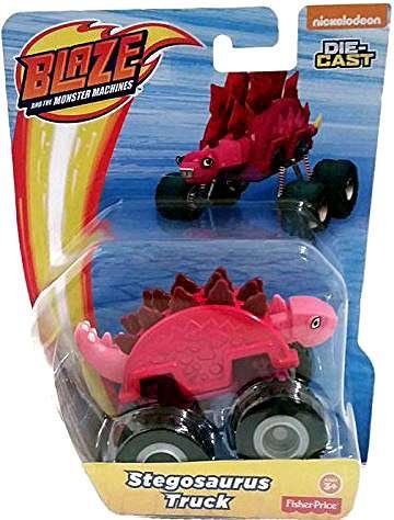 Nickelodeon Blaze And The Monster Machines Stegosaurus Die-Cast Truck