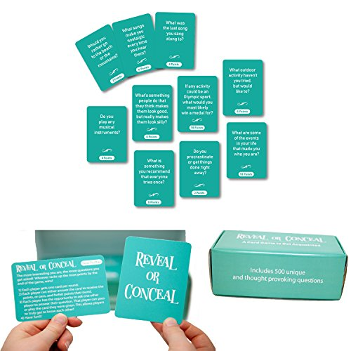Reveal Or Conceal - The Game With 500 Questions To Get To Know Each Other