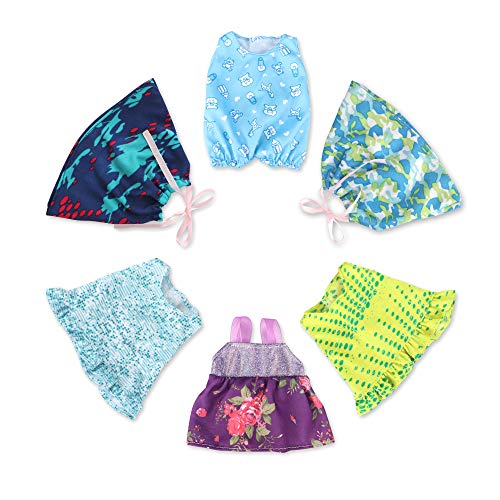 Baby Doll Clothes Outfits For 10 -12  Baby Doll,Alive Accessories Clothes For 10-12 Inch Baby Dolls Girl