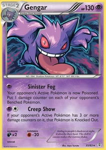 Pokemon - Gengar (35/83) - Generations - Holo