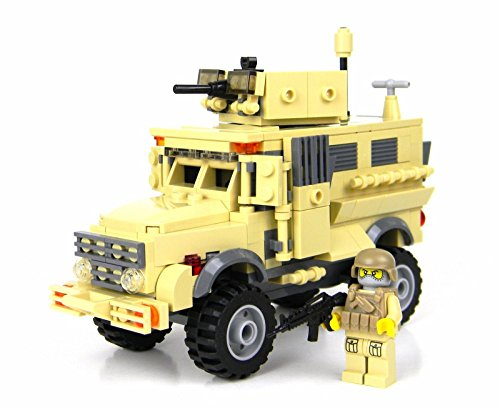 Army Mrap Apc - Battle Brick Custom Set