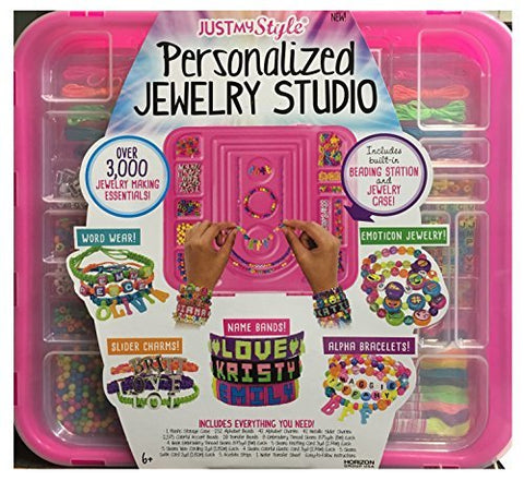 Justmystyle Personalized Jewelry Studio Over 3,000 Making Essentials