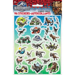 Jurassic World Sticker Sheets, 4Ct