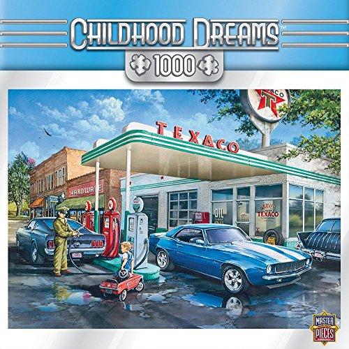 Masterpieces Childhood Dreams Pop'S Quick Stop Jigsaw Puzzle, 1000-Piece