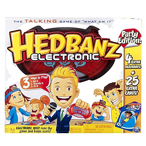Headbanz Electronic Party Edition Exclusive Talking Game