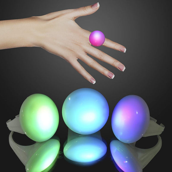 Flashingblinkylights Color Changing Led Mood Rings (Set Of 12)