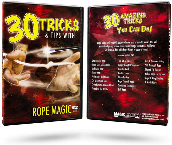 Magic Makers Tricks With Rope Magic - The Complete Course In Rope Magic - Rope Tricks