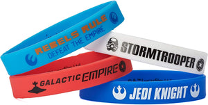 American Greetings Star Wars Rebels Party Supplies Rubber Bracelets (4 Count)