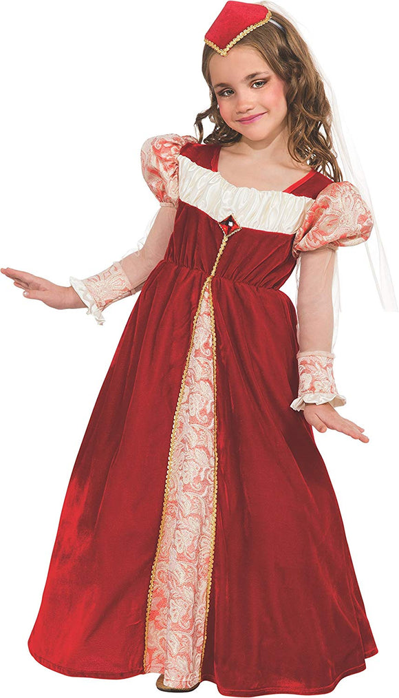 Rubie'S Red Jewel Princess Dress-Up Costume, Small