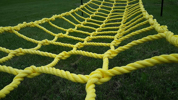 Natural Light Co Climbing Net Cargo Net Made From Heavy Duty 3/4