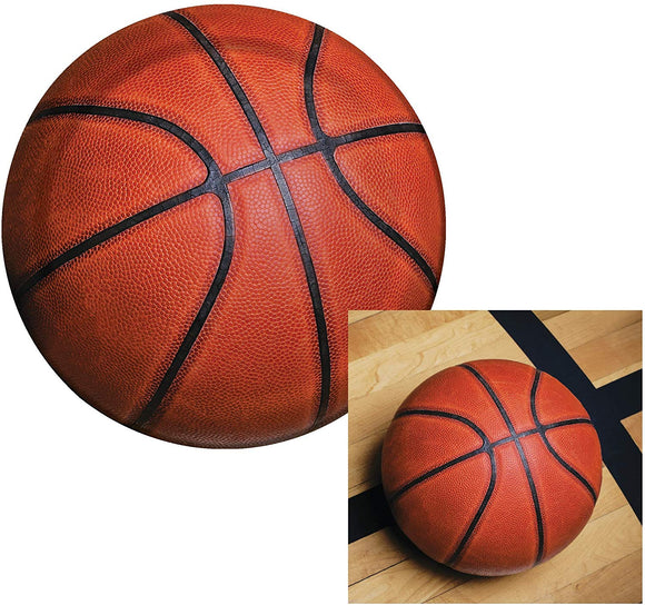 Creative Converting Basketball Sports Fanatic Dessert Napkins & Plates Party Kit For 8