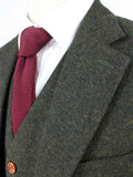 GREEN BARLEYCORN TWEED jacket