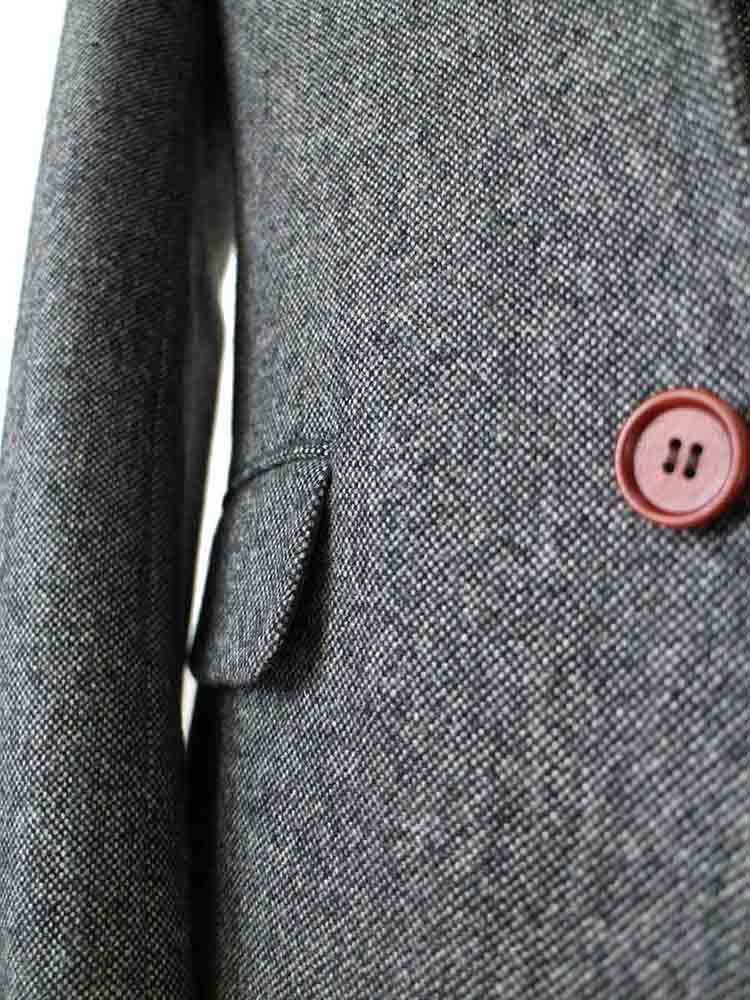 classic grey barelycorn tweed suit
