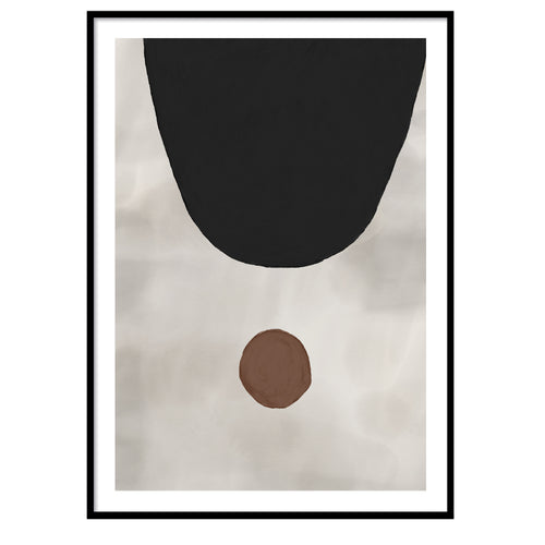 Manhattan abstract Poster