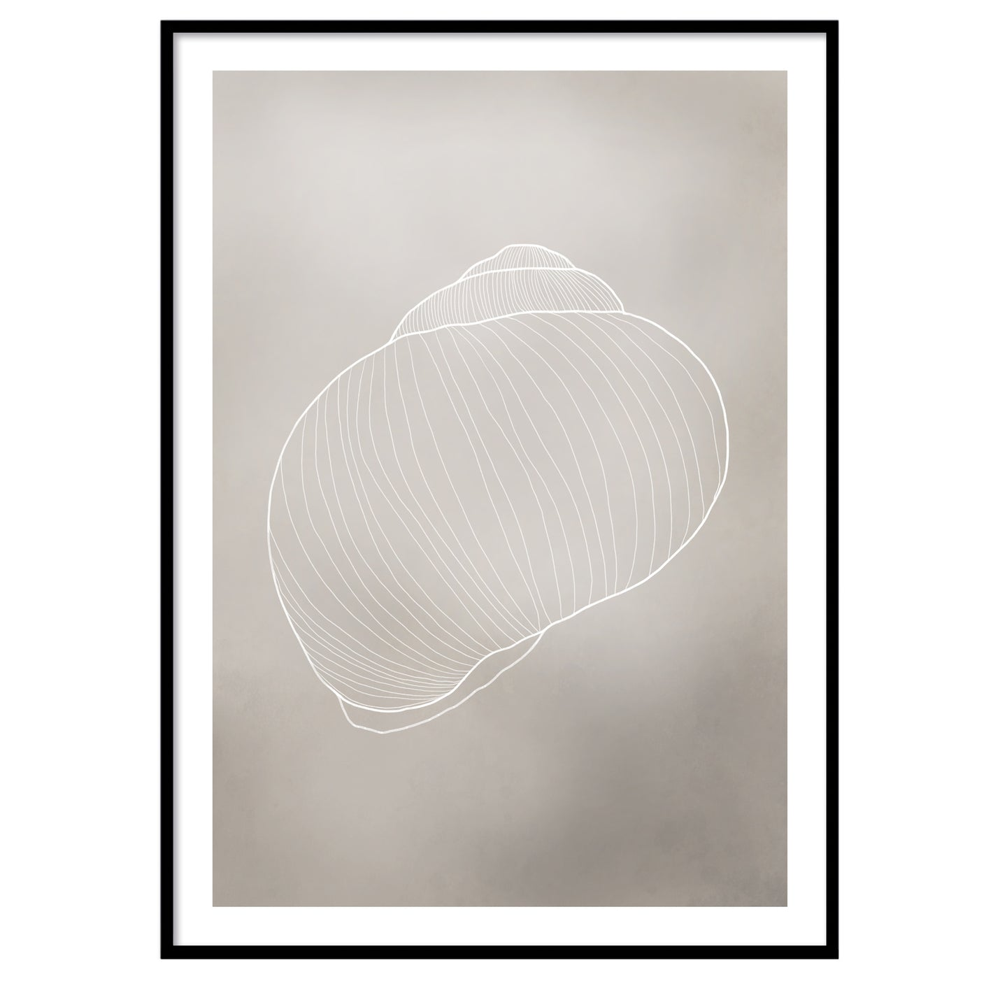 Sand shell poster