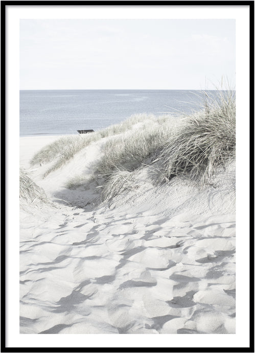Sand pad poster