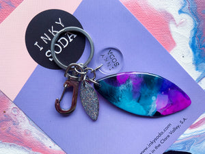 Galaxy Rose - Folly Keyring