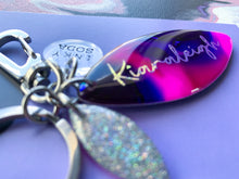 Load image into Gallery viewer, PREORDER Folly Keyring - customised.