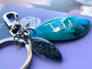 PREORDER Folly Keyring - customised.