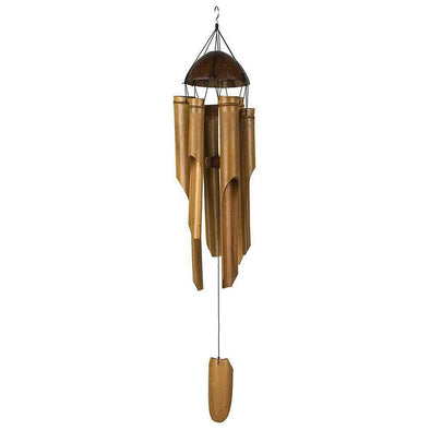 Australian Wellness Co. Coconut Bamboo Wind Chimes