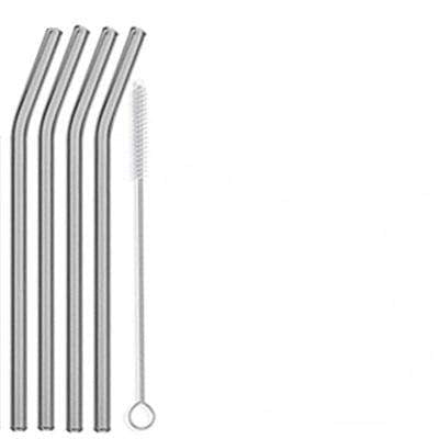 Curved Glass Drinking Straws