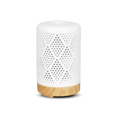 Australian Wellness Co. Light Wood / US Ceramic Essential Oil Aroma Diffuser