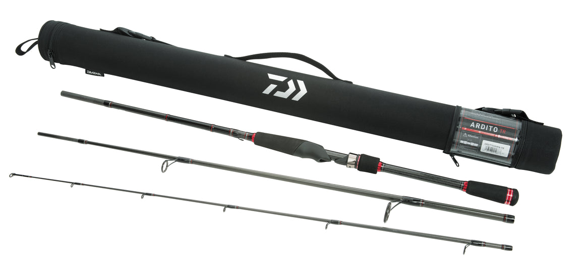 Daiwa Ardito-TR Travel Spinning Rods - Direct Fishing Sales