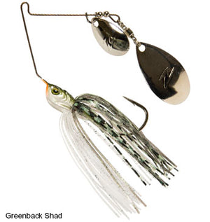 Z-Man SlingBladeZ Power Finesse Indiana Colorado Spinnerbait - Direct Fishing Sales