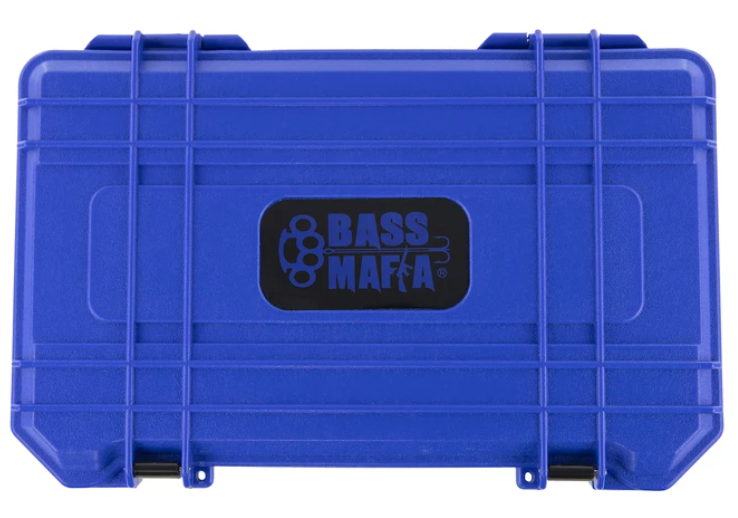 Bass Mafia Bait Coffin 3700 Reflex Blue - Direct Fishing Sales