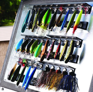 T-H Marine Lure Hangar KIT Tackle Management System - Tackle Titan (Black) - Direct Fishing Sales