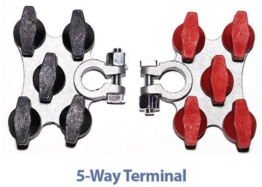 T-H Marine Hydra Multi-Connection Marine Battery Terminals - Direct Fishing Sales