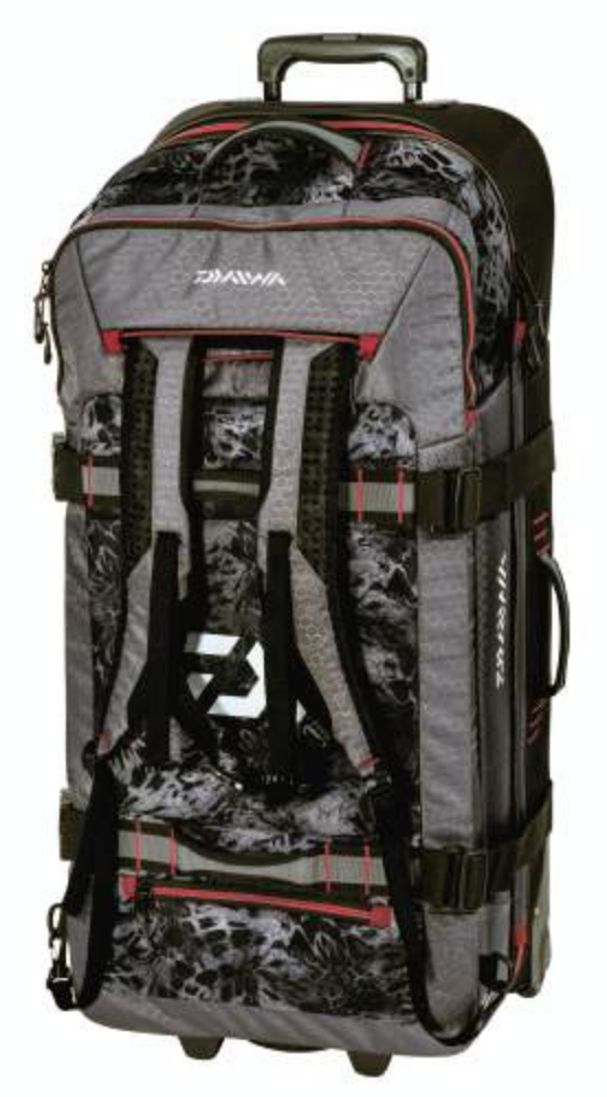 Daiwa D-Vec Rolling Travel Bag - Direct Fishing Sales