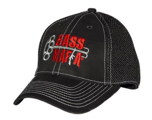 "Bass Mafia ""The Elite"" Fitted Logo Hat - Direct Fishing Sales"