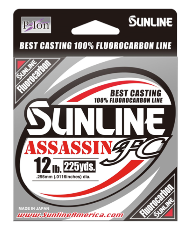 Sunline Assassin FC Fluorocarbon Line - Direct Fishing Sales