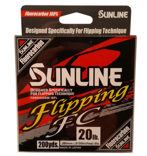 Sunline Flipping FC Fluorocarbon Line - Direct Fishing Sales