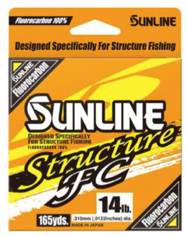 Sunline Structure FC Fluorocarbon Line - Direct Fishing Sales