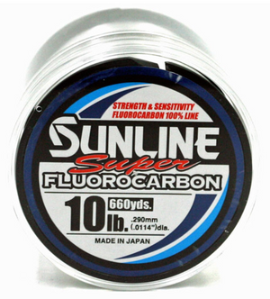 Sunline Super Fluorocarbon Line - Direct Fishing Sales