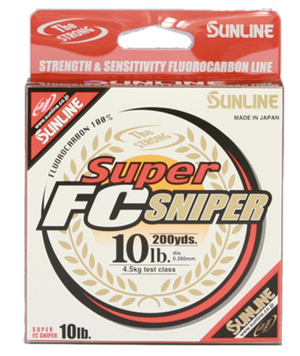 Sunline Super FC Sniper Fluorocarbon Line - Direct Fishing Sales