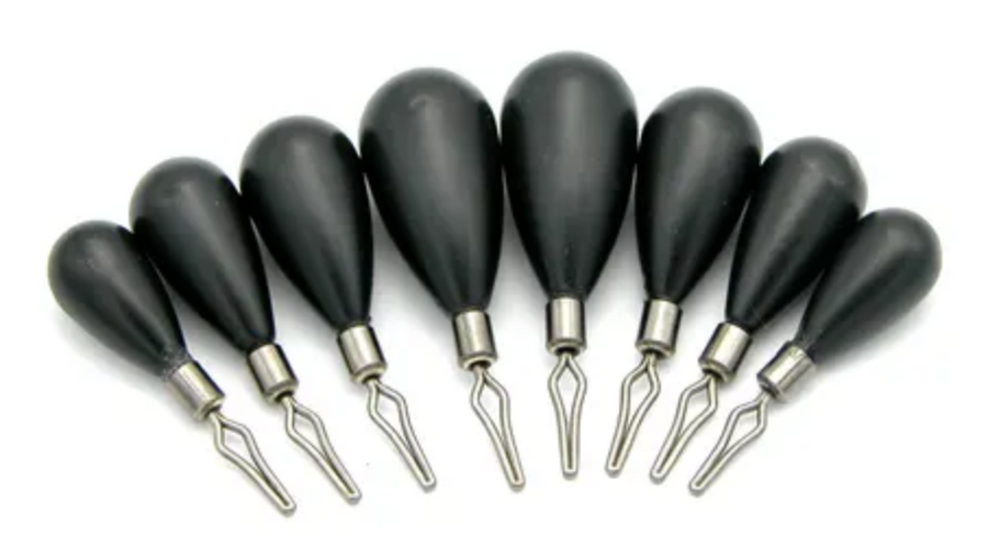 TopShot Tungsten Tear Dropshot Weights - Direct Fishing Sales