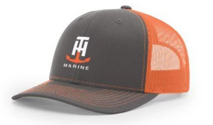 T-H Marine Neon Orange Logo Snapback Hat - Direct Fishing Sales