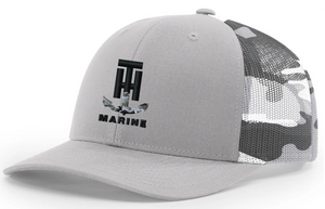 T-H Marine Snow Camo Logo Snapback Hat - Direct Fishing Sales