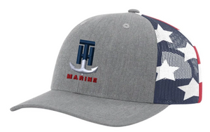 T-H Marine Stars & Stripes Logo Snapback Hat - Direct Fishing Sales
