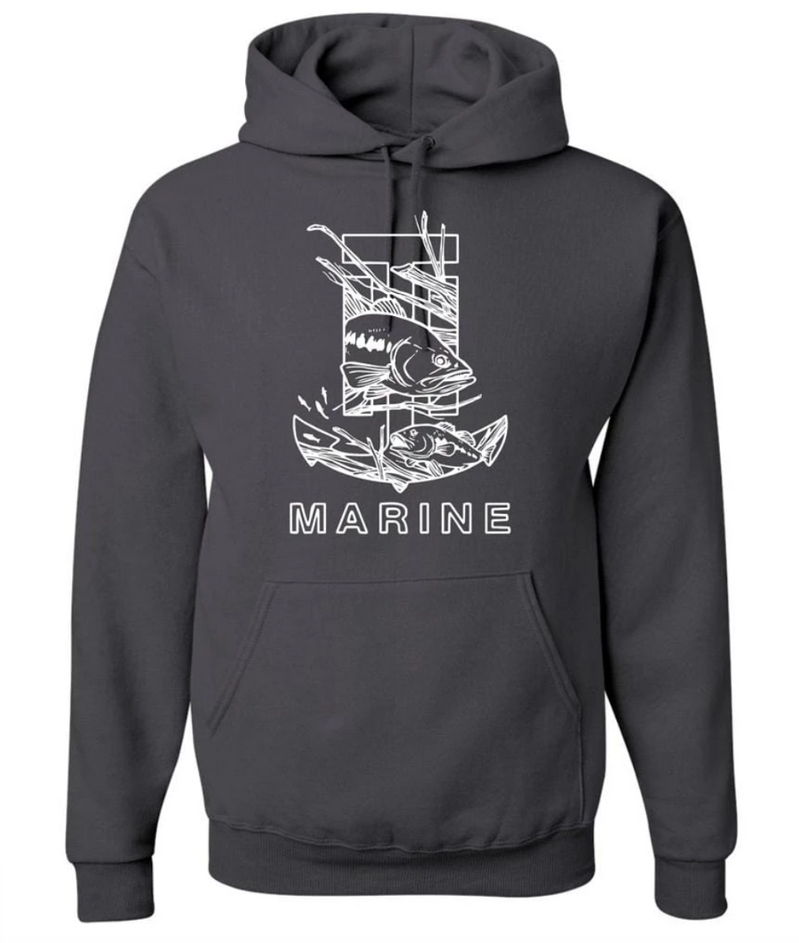 T-H Marine Bass Logo Hoodie - Direct Fishing Sales