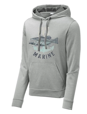T-H Marine Bass Logo Performance Hoodie - Direct Fishing Sales