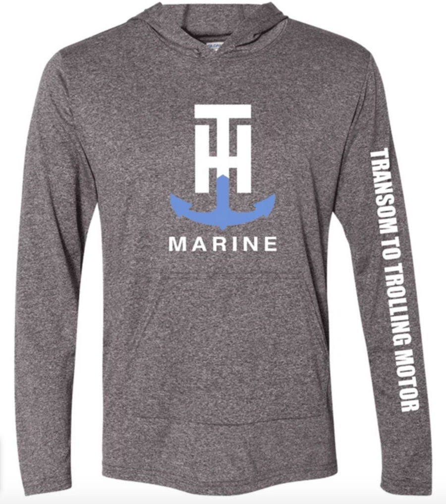 T-H Marine Hooded Front Pocket Performance Hoodie - Direct Fishing Sales