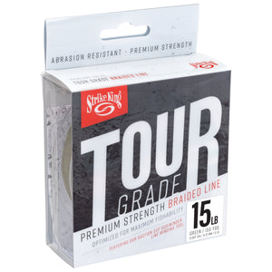 Strike King Tour Grade Braided Line - 150 Yards - Direct Fishing Sales