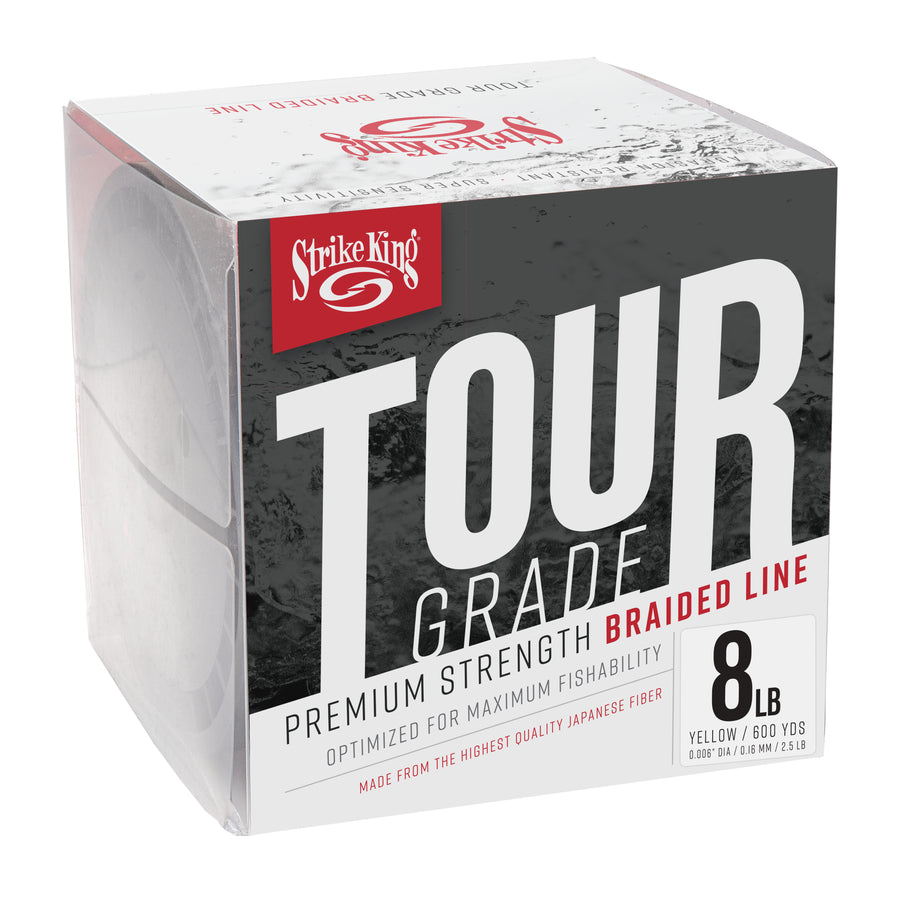 Strike King Tour Grade Braided Line - 600 Yards - Direct Fishing Sales