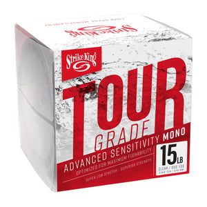 Strike King Tour Grade Monofilament Line - 600 Yards - Direct Fishing Sales