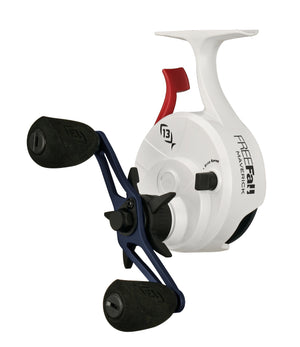 13 Fishing Black Betty FreeFall Ghost Ice Reel - Patriot Edition - Direct Fishing Sales